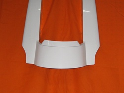 2009-UP Rear Fender Extension/Street Sweeper with Dual Exhaust Cut Outs  MB-750SS