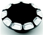Black Dummy gas cap-96-UP CB-0703-0397