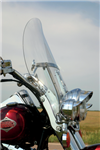 Klock Werks Flare Windshields 20'' Clear FITMENT: FLS SOFTAIL Family with OEM windshield, 23100339