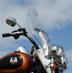 Billboard Flare for Road King 94-17 CLEAR KW-2310-0342