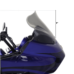Klock Werks Flare Windshield For 1998-2013 Road Glide Fairings 12'' Dark Smoke  KW-2310-0358