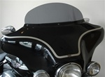 "7"" Smoked Curved Top Windshield  MB-07S"