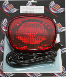 Custom Dynamics GEN2-FL-R LED Taillight (Red Add-On Assembly For 2010-2013 Harley-Davidson FLXS Street Glide and FLTRX Road Glide Models) 20101233