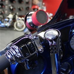 Klock Wreks Right side iO mounts in Chrome. Device Mounts for Harley KW-06360103