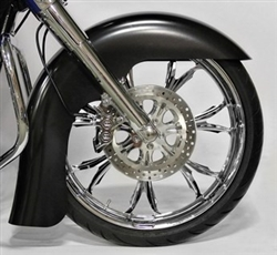 2014-UP Benchmark Front Fender, Bagger APPLICATION: 23'' with raked triple trees only!! KW-1401-0450