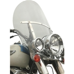 Klock Werks Flare Windshields 20'' Tint FITMENT: FLS SOFTAIL Family with OEM windshield, 23100339