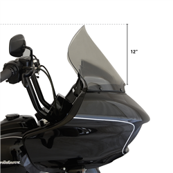 "Klock Werks Pro-Touring 15"" Clear Flare Windshield For 2015-UP Road Glide Fairings KW-2310-0568"