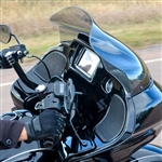 Klock Werks Sport 14'' Tint Flare Windshield For 2015-UP Road Glide 2310-0569