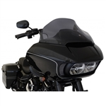 Klock Werks Sport 14'' Dark Smoke Flare Windshield For 2015-UP Road Glide 2310-0570
