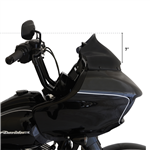 Klock Werks, Sport 9'' Black Flare Windshield For 2015-UP Road Glide 2310-0582