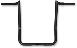 "16"" Paul Yaffe's Bagger Nation MBB125-16-B-1 Black 16'' Bagger Monkey Bars Handlebar (for 1986-2019 Harley-Davidson FLH Touring Models, 1-1/4"")"