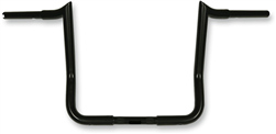 "12"" Black, Paul Yaffe's Bagger Nation MBB125-12-B-1 Black 12'' Bagger Monkey Bars Handlebar (for 1986-2019 Harley-Davidson FLH Touring Models, 1-1/4"")"