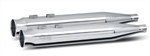RC Components, Thunder Chrome End Caps, Chrome 4.0'' Slip-On Mufflers RCX-102C-05C