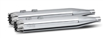 RC Components, Excailbur Chrome End Caps, Chrome 4.0'' Slip-On Mufflers RCX-102C-06C